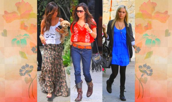 Quel est la tenue d'Ashley que vous préférez ?