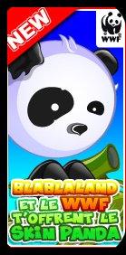 Avoir le skin Panda (skin gratuit)