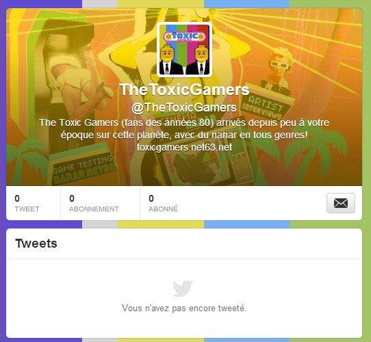 Les Toxic Gamers Débarquent Sur Twitter !!!