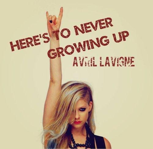20 leçons de vie qu'Avril nous a apprises!!!