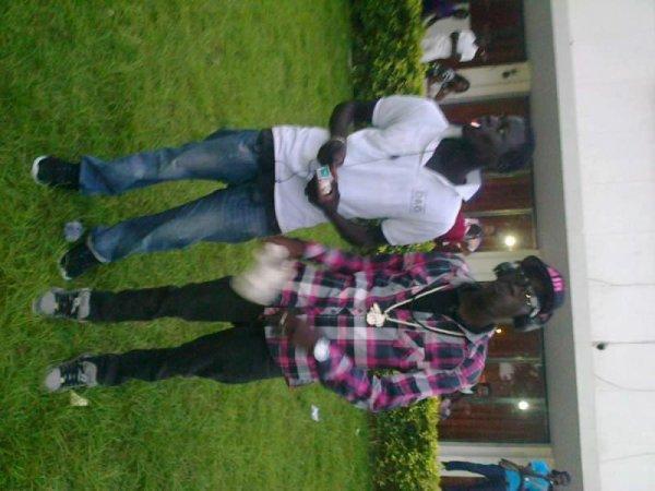 me and ibzo