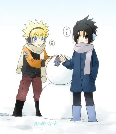 Petite paire de gants et gros bonhomme de neige (O merry christmas )