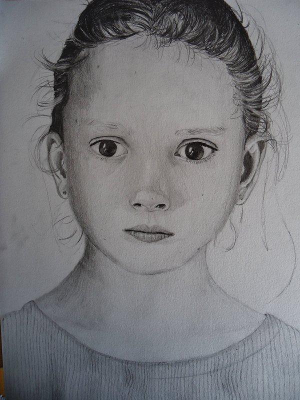 Autre Portrait de Petite Fille