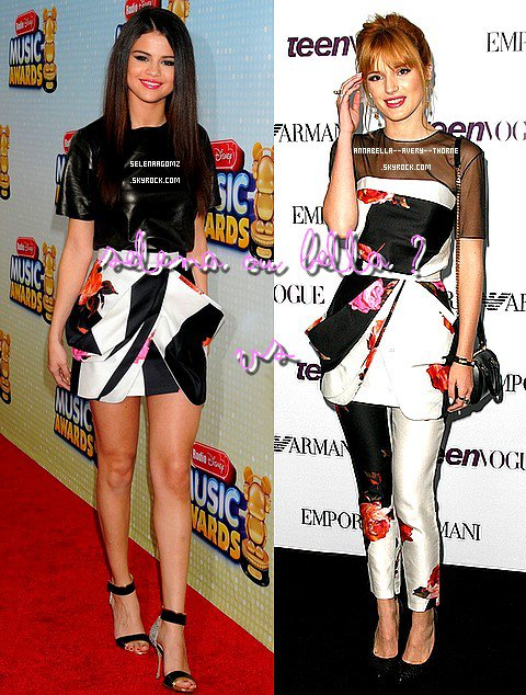 Nouvelles sorties, nouveau shoot de Bella. Nouvelles photos de facebook-instagram-twitter. Et Vs entre Bella et Selena Gomez.Sont au rendez vous.