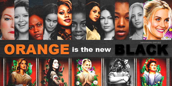 ► NETWORK-SERIES ◈ Article :  ORANGE IS THE NEW BLACK_________✦ Newsletter ✦ Création ✦ Décoration ✦