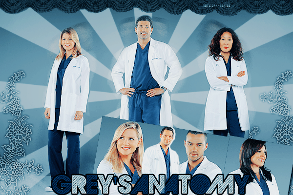 ► NETWORK-SERIES ◈ Article :  GREY'S ANATOMY________________✦ Newsletter ✦ Création ✦ Décoration ✦