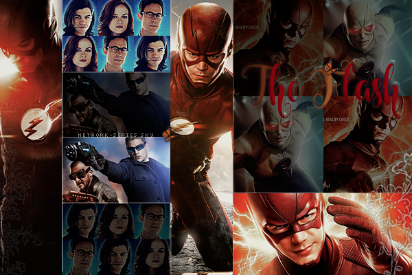 ► NETWORK-SERIES ◈ Article :  The Flash_____________________✦ Newsletter ✦ Création ✦ Décoration ✦