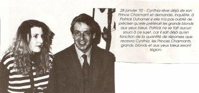 """ARTICLE SUR """" A TOUT COEUR """" 28 Janvier 1992"""