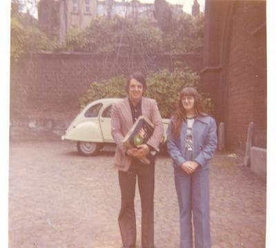 JARDINS DU MAYEUR A MONS LE 6 MAI 1974