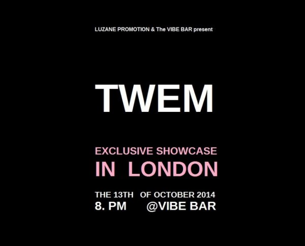 TWEM de retour à Londres le 13 octobre prochain !
