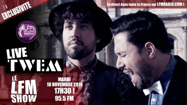 Live radio bientôt sur LFM Radio