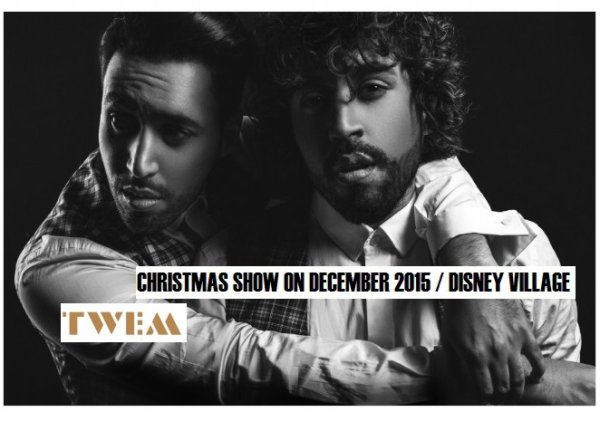 SAVE THE DATE : TWEM A DISNEY VILLAGE POUR UN CHRISTMAS SHOW SPECIAL- DECEMBRE 2015