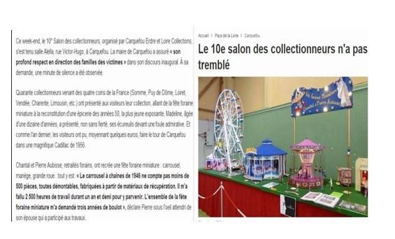 carquefou 2015 article de journal