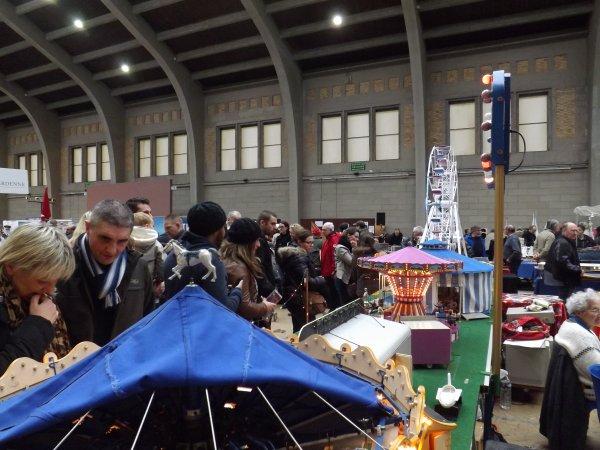 cherbourg salon de la maquette 2015  nombreux public