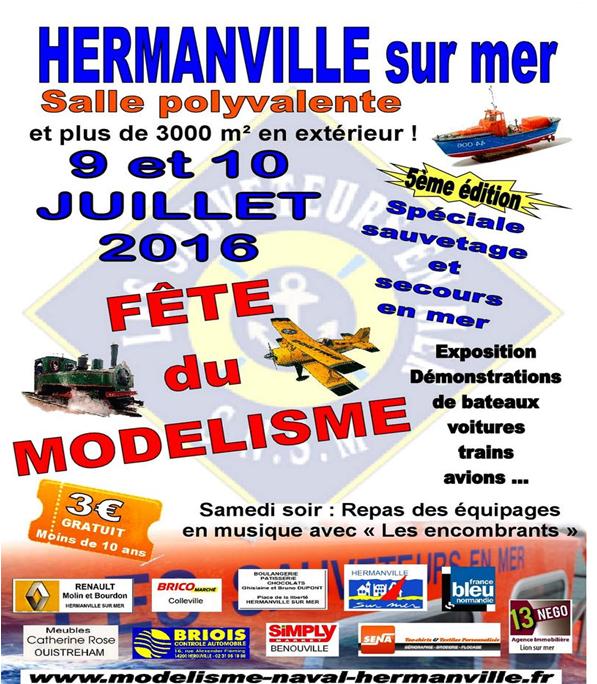 hermanville 9 et 10 juillet 2016 seront present avec notre feteforaineminiature