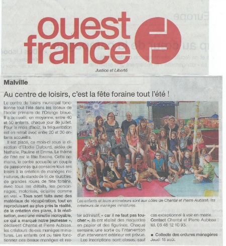 malville article de journal