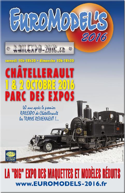 chatellerault..( le 1e et 2 octobre 2016 seront present avec notre feteforaineminiature