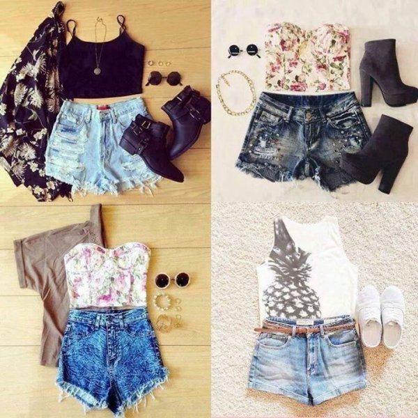 Tenue pour cette été les filles!?❤️