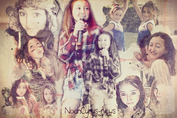 What's up ... ღ Billboard Music Award - Noah cyrus cheerleader - Noah Cyrus School Benefit - Noah Cyrus at the beach .
