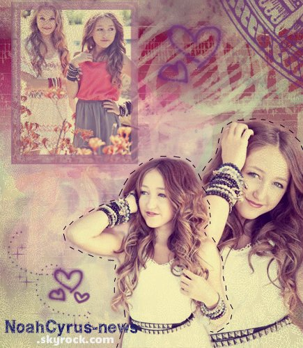 Noah Cyrus PHOTOSHOT - VIDEOS ♥