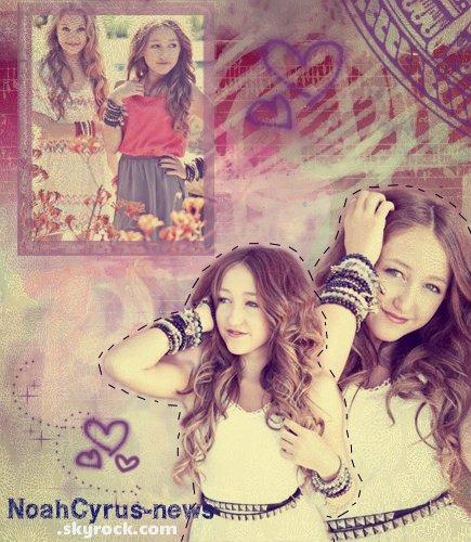 Noah Cyrus PHOTOSHOT - VIDEOS ♥