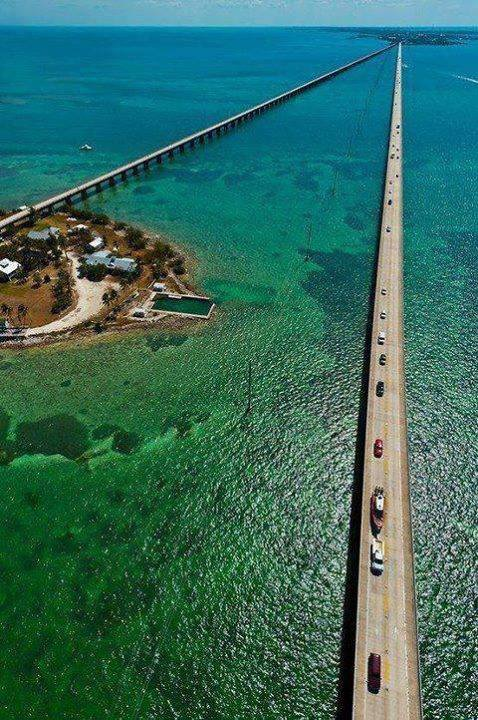 Seven mile bridge...Florida..