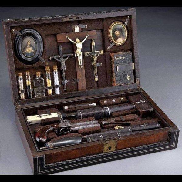 Vampire killing kit....