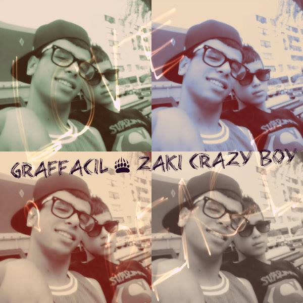 GRAFFACIL AND ZAKI CRAZY BOY