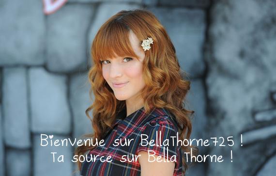Bienvenue sur BellaThorne725 !