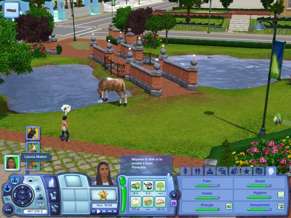 j'ai même eux les Sims 3 , et Sims 3 Animaux et cie