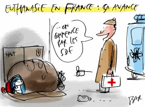 Qui a le drOit à la dignité en France?