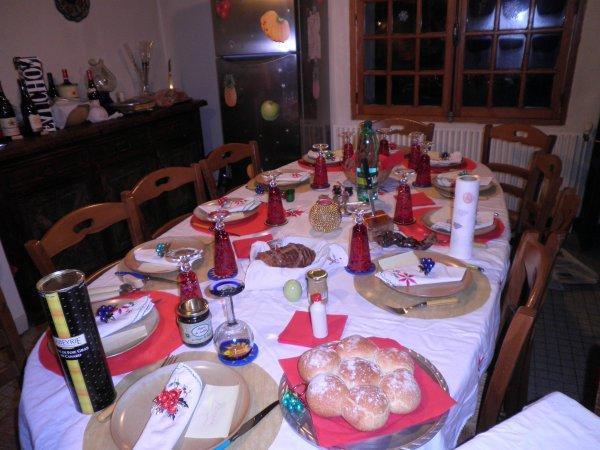 Repas noel 15 personnes