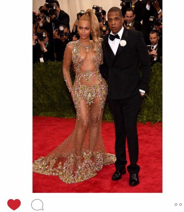 Met Gala 2015 ... My favourite z Beyoncé