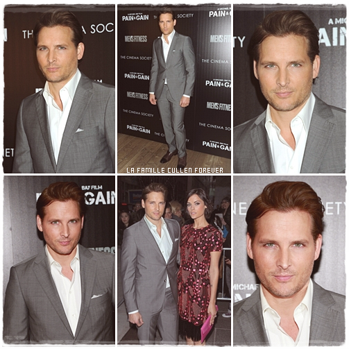 "Peter Facinelli - The Cinema Society And Men's Fitness Host A Screening Of ""Pain And Gain""  // 16.04.13"