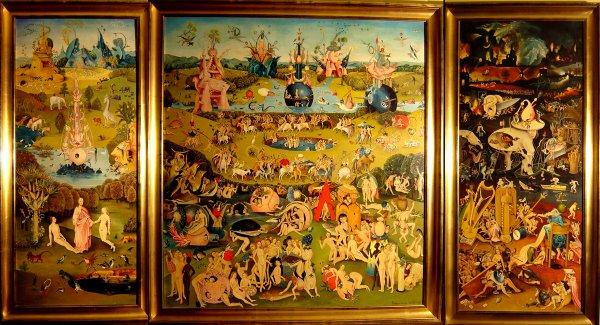Le jardin des délices de J. Bosch