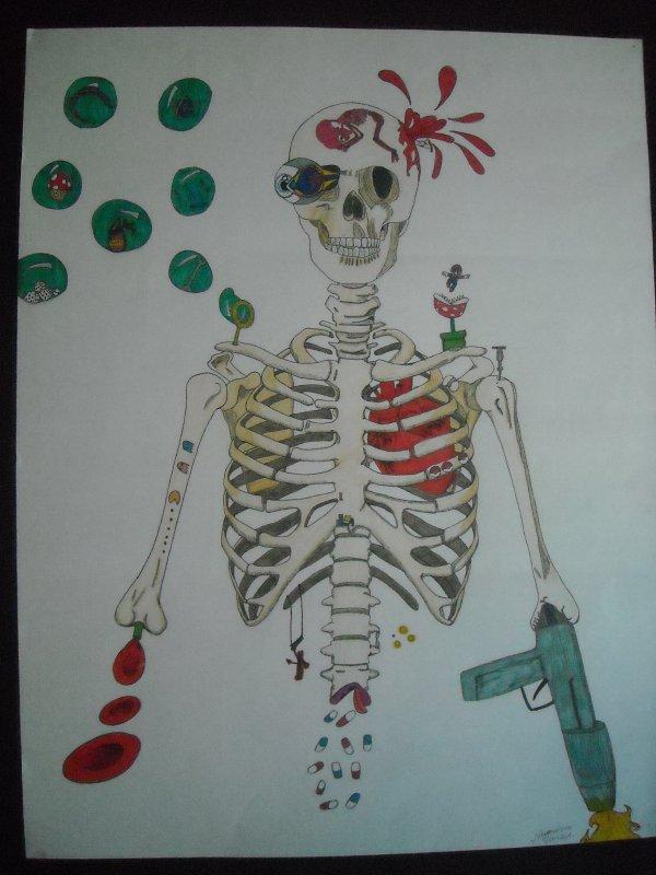 Squelette délateur