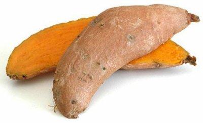la patate douce.............