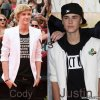 Justin Bieber vs Cody Simpson .