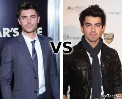 Zac Efron VS Joe Jonas