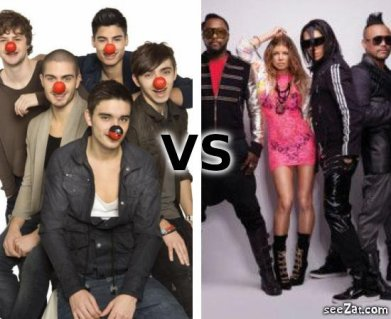 The Wanted VS The Black Eyed Peas