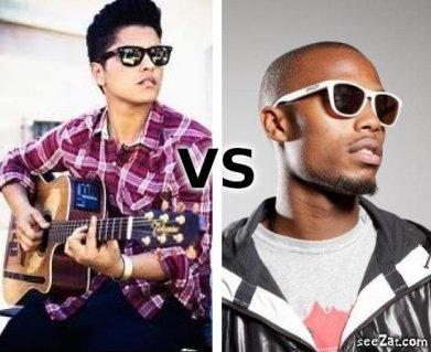 Bruno Mars VS B.o.B
