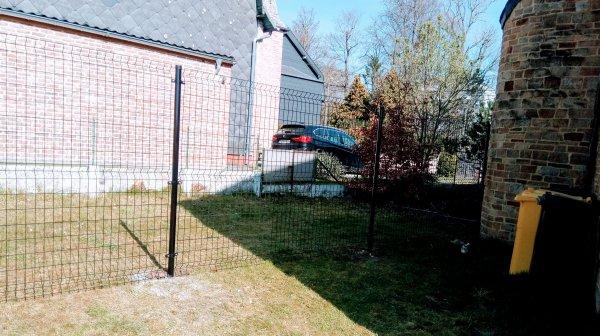 Réalisation d'une clôture à Ciney