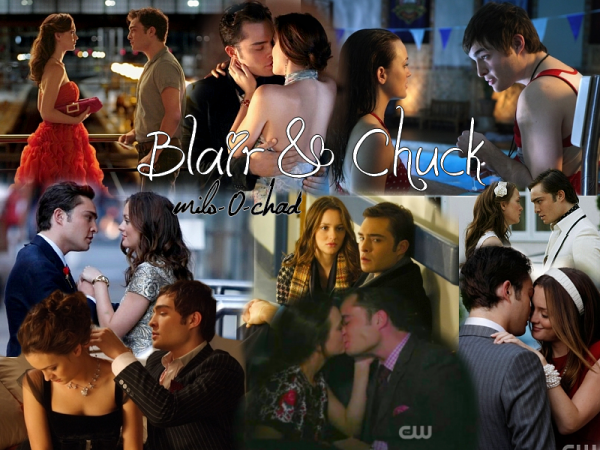 "Chair : Blair & Chuck ""The"" Couple of GG"