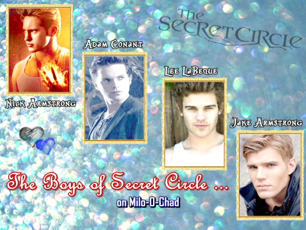 The boys of Secret Circle