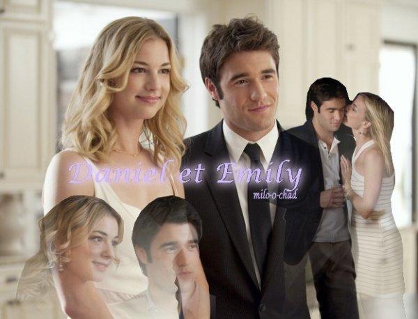 Le couple de Revenge : Daniel & Emily...