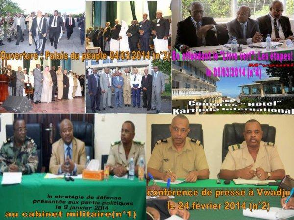 Vous êtes ici pour « penser la paix » et non pour « faire la paix » ! s'exclame le président Dr Ikililou Dhoinine