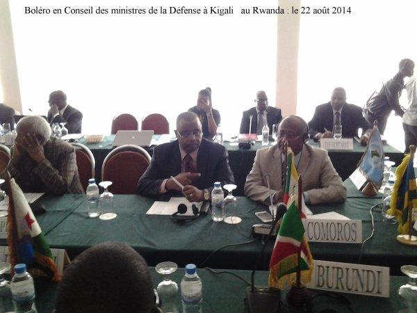 Hamada Madi Boléro se trouve à Kigali au Rwanda ce 22 août 2014