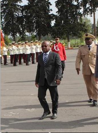 Hamada Madi Boléro en Conseil Extraordinaire des Ministres de la défense à Karthoum