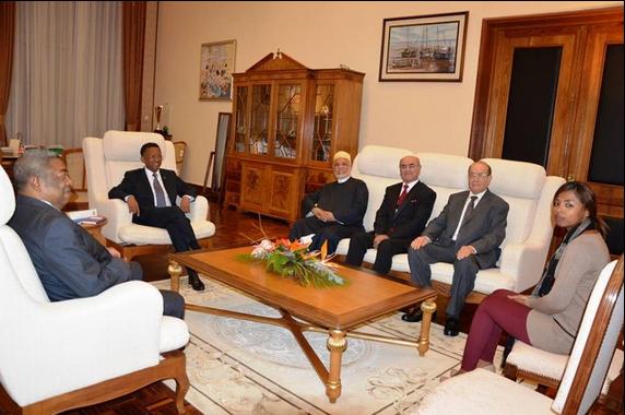 Incroyable mais vrai : Ahmed Sambi crée la Surprise au palais d'Etat d'Iavoloha à Madagascar !