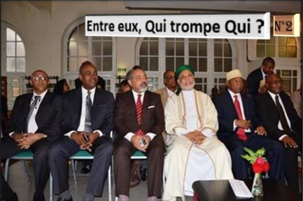 Ça y est, c'est fait ! ils ont congelé leur leader Ahmed Sambi au bureau de la Cour constitutionnelle et commencent la guerre des testaments
